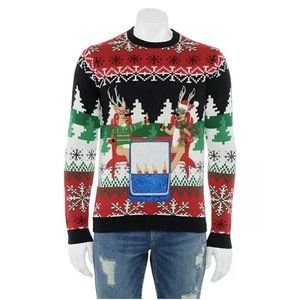 Men's Holiday Happy Hour Christmas Sweater